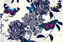 UTOPIA BUTTERFLIES WALLPAPER by Arthouse Limited