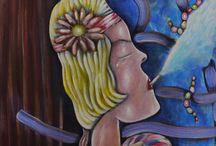 Roaring Twenties / Figurative Abstract Fine Art
