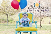 One Year Old/Cake Bash Photo Shoot Ideas / by Samantha Miller