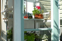 Old Windows / Versatile use of old windows  / by Magazine Your Home