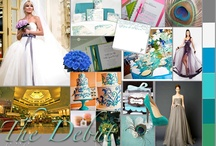 12.18.12 / So, we're planning my debut party for December this year! Squeeee! So excited! Our color motif is going to be all blues and greens. So much stuff to pick out/plan, you gotta start somewhere, right? :)