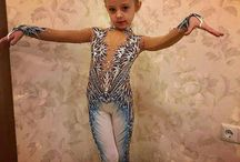 комбинезон для художественной гимнастики