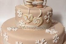 Professional cake decoration