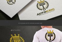 Auto Shop Logo / This is a logo board with a wide range of auto shop logos. From vintage signs to modern icon styles.