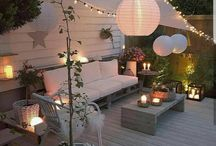 zahrada terasa