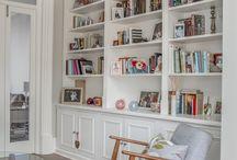 Storage / Some interesting integrated storage ideas designed by three eleven design, Brighton Architects