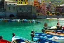 Cinque Terre / details and landscapes of Cinque terre area
