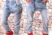 Kalhoty buggy -haremky