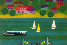 Boats Graphic