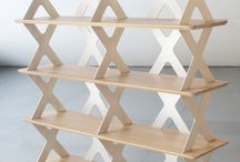 1010 Shelf System / Etagère 1010 Shelf System: système constructif de rangement  www.pierrefurnemont.com