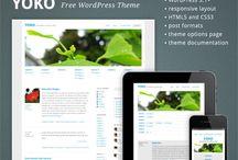 Free WordPress Themes / by Broady