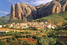 Pueblos en Montañas