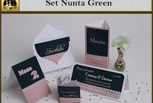 Set nunta Green