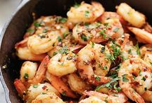 Chili Garlic Shrimps
