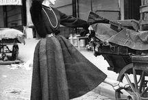 1950 - flower woman