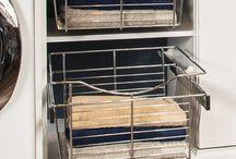 The Organized Laundry Room