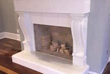 Fireplace Works by Luxury Countertops / Elegant & Stylish Fireplace Works by Luxury Countertops
