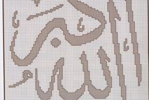 Islamic xstitch / by Madewithpatience
