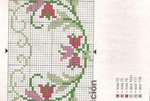 X-stitch / Flowers