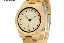 Vegan watches / These watches are made from the highest quality wood and bamboo with each wood watch handcrafted. Every watch is unique each telling it's on story. Not only the watches stand out from the rest, they are a great showpiece and a conversation starter.