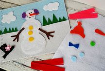Winter crafts / by Sarah Hermary