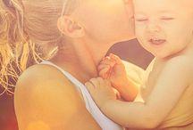 Baby und Familie