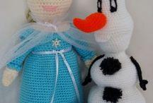 Frozen Inspired free Crochet Patterns