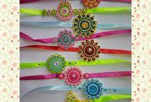 quilling bracelet /rakhi