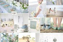Ice garden wedding