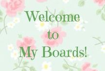 Welcome to my boards... / by Sandy Beck
