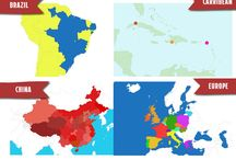 Super Interactive Maps for WordPress / Super Interactive Maps is a fully-featured WordPress Plugin integrated with Google Geochart that allows you to create maps of country, content and regions as well as add interactivity such as map markers, interactive pop up (video/text/images), colored regions/markers and many other cool features.