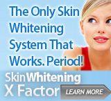 Skin whitening / by Marilyn Morehead