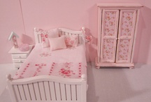 Miniature bedroom