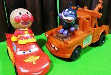 Disney's Cars &Meter ❤ アンパンマンおもちゃアニメ