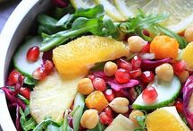 Veggie Dishes and Salads / what I definitely should be eating more of / by Jennifer Palabay