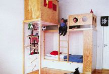 Bunk Bed Ideas / by Brook Harmon