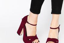 tacones/zapatos