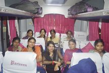 Parveen Travels successfully Launched the Exclusive Women only Bus. / Parveen Travels successfully Launched the Exclusive Women only Bus. The customers were given memento and spoke high of the travel Respect Women For Life