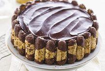 Suikervrije taarten/cakes en koekjes