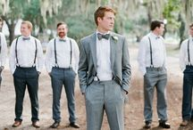 Wedding party pose ideas / Bridesmaids and groomsmen all together