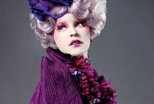 Effie Trinket / Happy hunger games! And may the odds be EVER in you favor!  ~Effie Trinket / by Holly Kapp