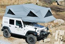 camping and jeeping