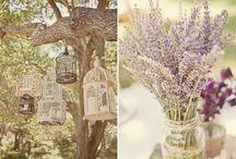 Purple Rustic Decoration Inspiration