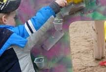 Sand and Water Walls / by Amy @ Child Central Station
