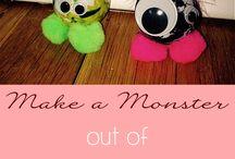 Dance Camp Ideas - Monsters