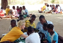 South Luangwa, Zambia / The Book Bus began working in Zambia in 2008. Our reading scheme now reaches schools in South Luangwa near the National Park, which is a contender for the title of Africa's best game park.