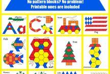 Kindergarten - Pattern Blocks