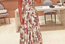 vestidos estampados