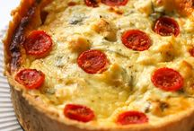 Quiches, tarts & pies