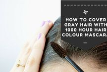 1000 Hair Colour Mascara / Bothered by wisps of grey hair in between hair appointments? Check out our blog and find out how 1000 Hair Colour Mascara can help.